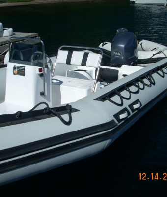 Semirigido 6 mts. Yamaha 115 HP 4T